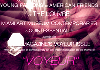 "XXXX MAGAZINE ""VOYEUR"" EXHIBIT OPENING ART BASEL MIAMI WITH AFL, MAM & QUINTESSENTIALLY"