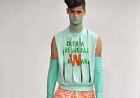 WALTER VAN BEIRENDONCK - PARIS S/S 2012 FASHION SHOW & BACKSTAGE