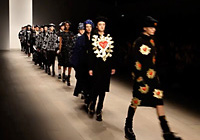 KTZ - LONDON F/W 2012 FASHION SHOW + INTERVIEW & BACKSTAGE