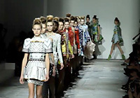 MARY KATRANTZOU - LONDON F/W 2012 FASHION SHOW