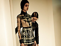 CORRADO DE BIASE - PARIS F/W 2012 FASHION SHOW AND BACKSTAGE